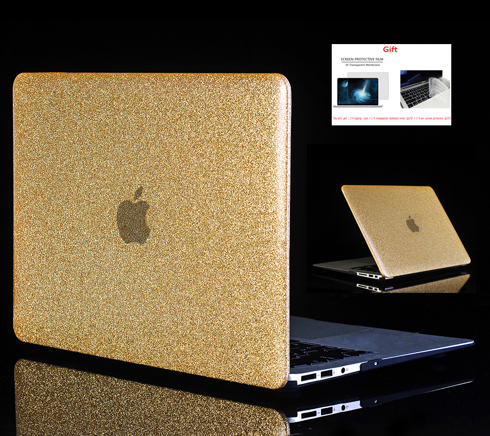 Shine Glitter Hard Laptop Case For font b Apple b font font b Macbook b font