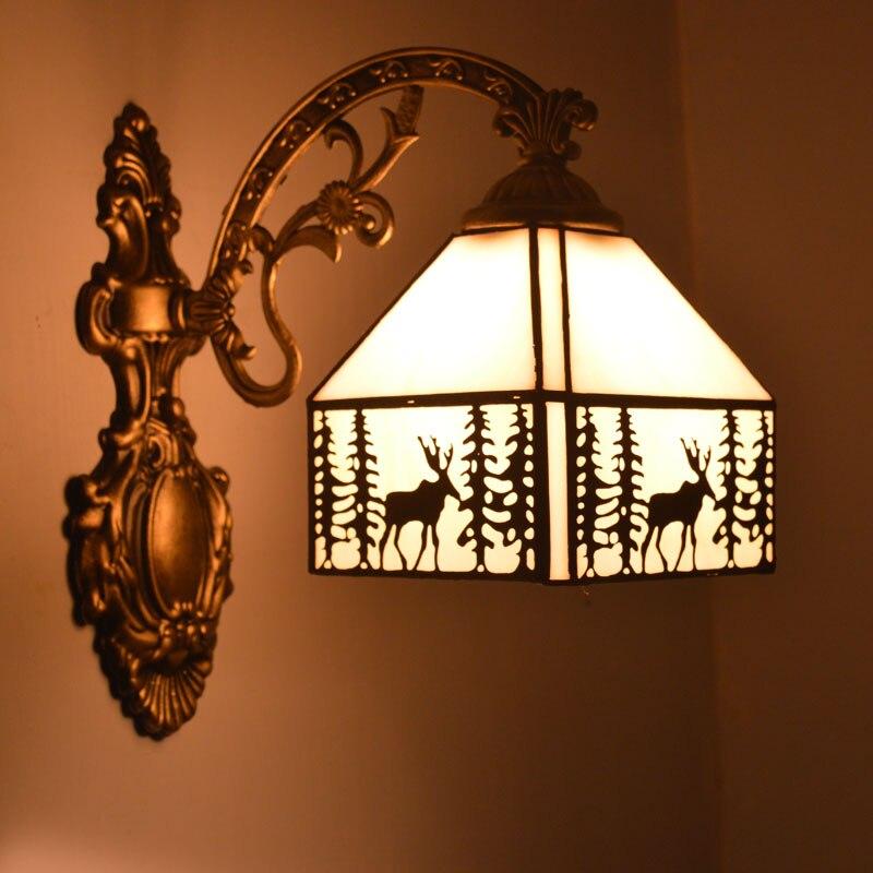 Elk Bathroom Lighting Fixtures popular stained glass bathroom lighting-buy cheap stained glass