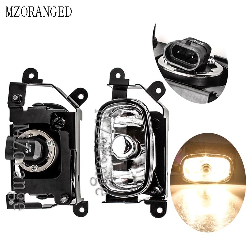 Front Fog Light Lamp DRL Daytime Running Light for Mitsubishi Outlander 2003 2004 2005 2006 2007