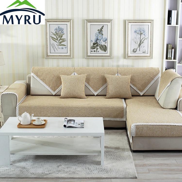 myru hot sale pastoral sofa covers slip resistant sofa towel sofa slipcover pattern covers for. Black Bedroom Furniture Sets. Home Design Ideas