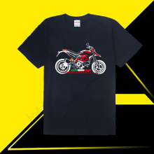 KODASKIN Motorcycle Style 100% Cotton for DUCATI HYPERMOTARD 939 Casual Short Sleeve O-Neck T Shirt