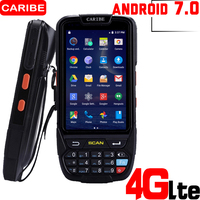 CARIBE 4 Inch Wireless Android PDA GPRS and 4G Laser Barcode Scanner with USB 125k WIFI