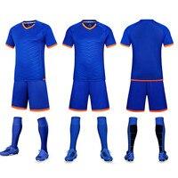 Men Soccer Jerseys Đặt 2016 2017 Thanh Niên hàng xấp thơ de foot survetement đào tạo bóng đá voetbal tenue trẻ em voetbalshirts