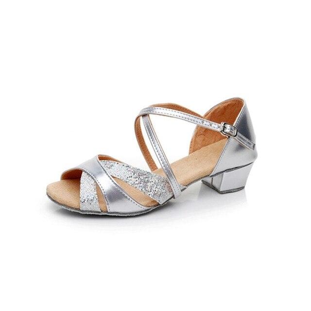 Ismrcl американский размер не право Pls купить как см данных 24 ~ 40 для детей и взрослых Сандалии Летняя одежда для девочек обувь в латинском стиле для Для женщин Туфли для латинских танцев