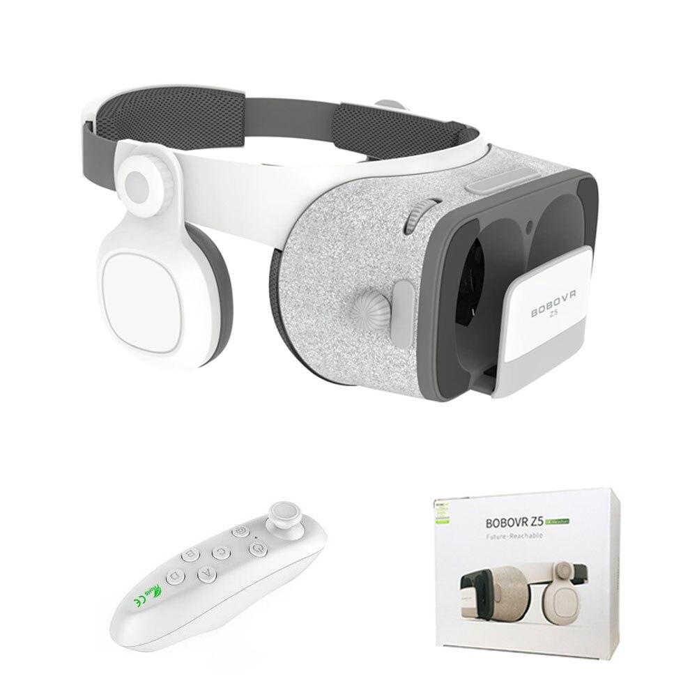 Better than BOBOVR Z4 BOBO VR Z5 120 FOV 3D Cardboard Helmet Virtual Reality Glasses Headset