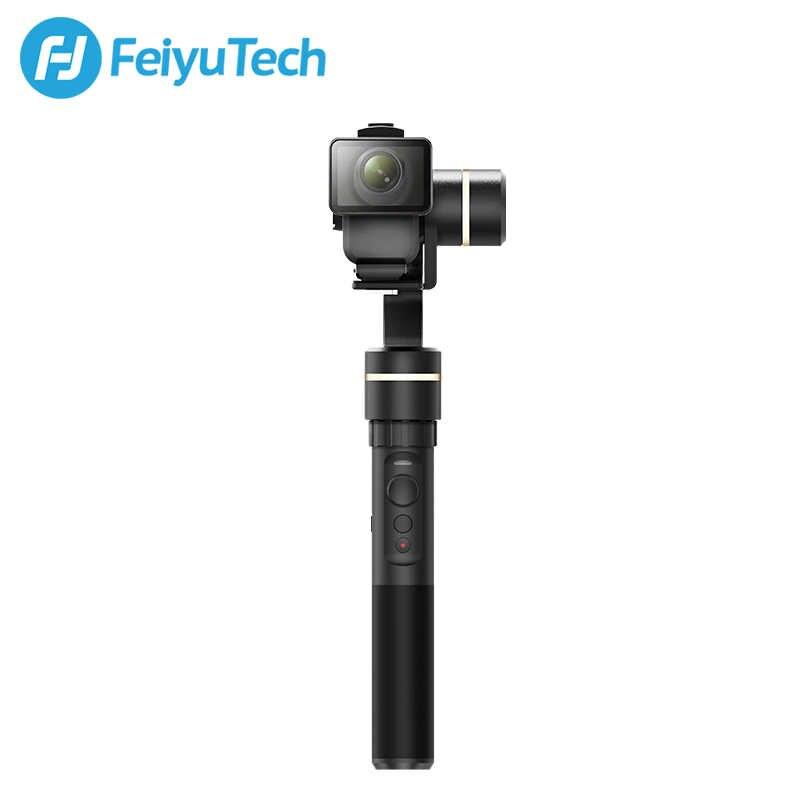 FeiyuTech Feiyu G5GS 3-осевая карманная экшн Камера Gimbal брызгозащищенное стабилизатор для sony X3000 X3000R AS50 AS50R