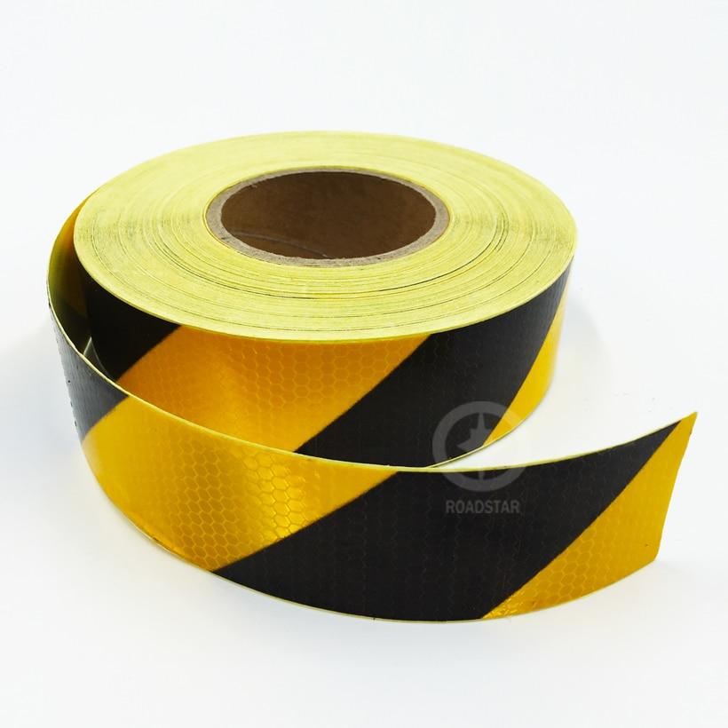 5 cm x 50 m reflecterende tape zelfklevende rood-witte stralende - Accessoires voor auto-exterieur - Foto 5