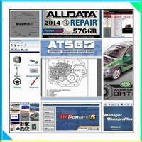 Oprogramowanie 2017 auto naprawa oprogramowania Alldata mitchell alldata i oprogramowanie mitchell ondemand 2015 warsztacie żywy 49in danych 1 tb hdd