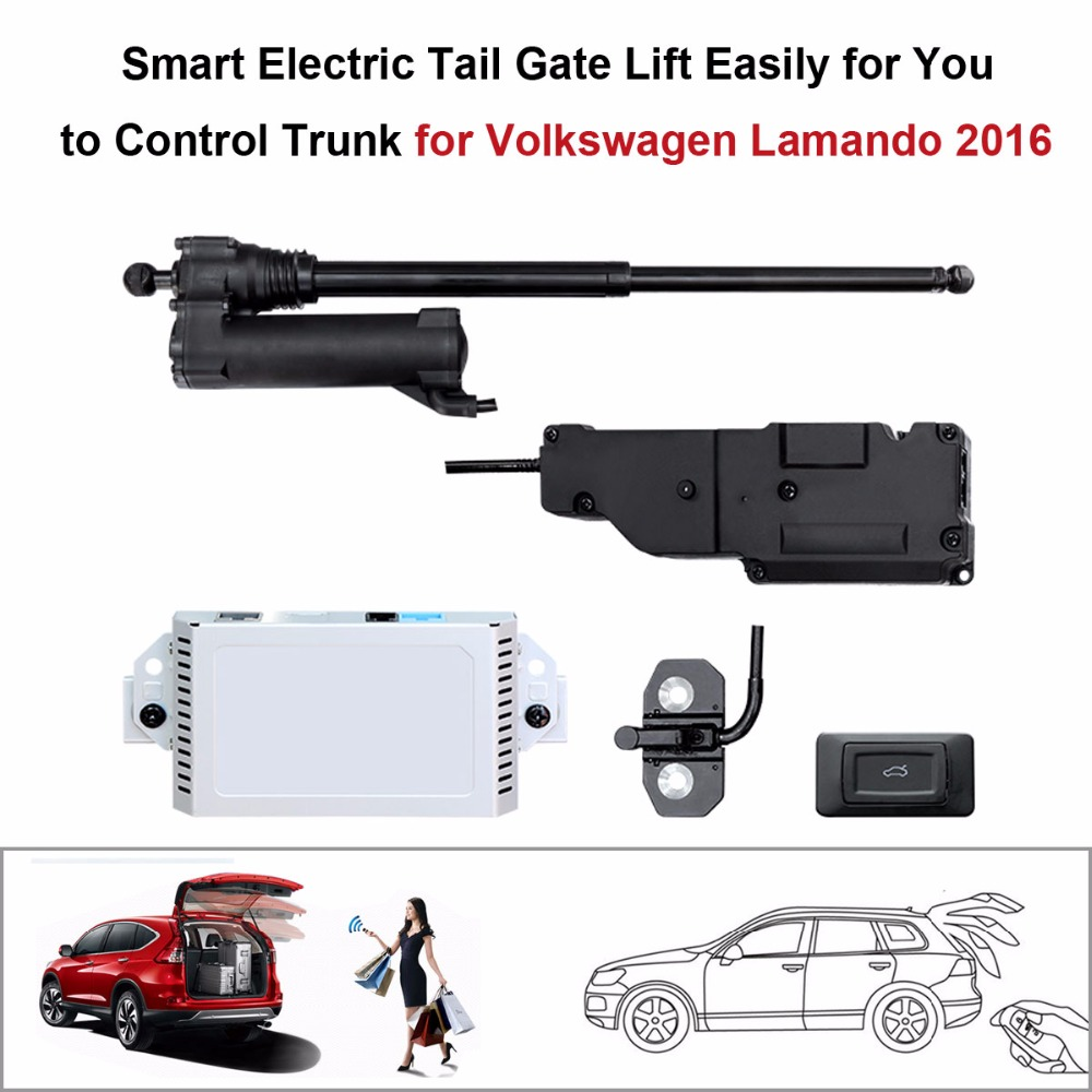 Electric Tail Gate Lift for Volkswagen Lamando 2016 Control by Remote