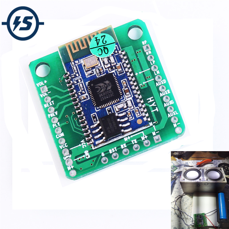 5V 5W Wireless Bluetooth Module <font><b>BK8000L</b></font> Stereo Audio Receiver Digital Amplifier Board With Call Function Bluetooth Audio Module image