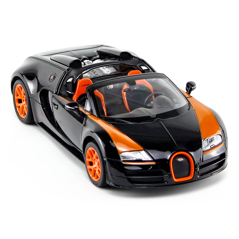 Bugatti Veyron Motor: Muscle Type Car Bugatti Veyron 1:18 Static Alloy Cars