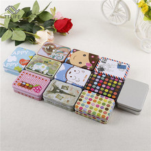 TTLIFE Colorful Mini Tinplate Metal Box Sealed Jar Packing Boxes Jewelry Candy Small Storage Cans Coin Earrings Gift New