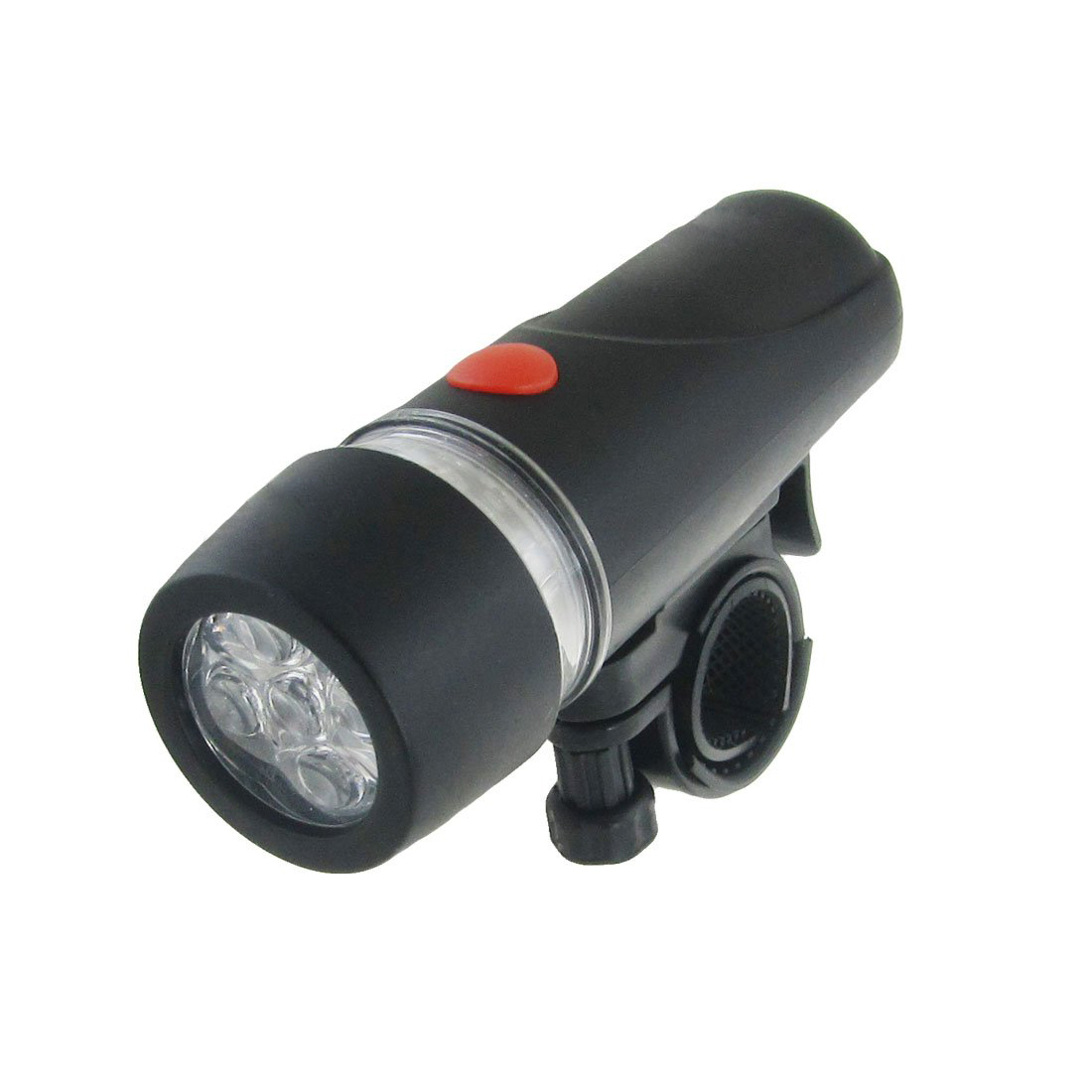 Good deal Bike Bicycle White LED Flashing Light Headlight Torch Black