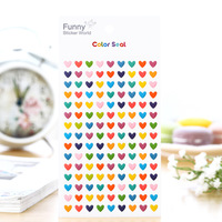 DIY Small color loving kawaii Stickers Diary Planner Journal Note Diary Paper Scrapbooking Albums PhotoTag Funny15S-T917