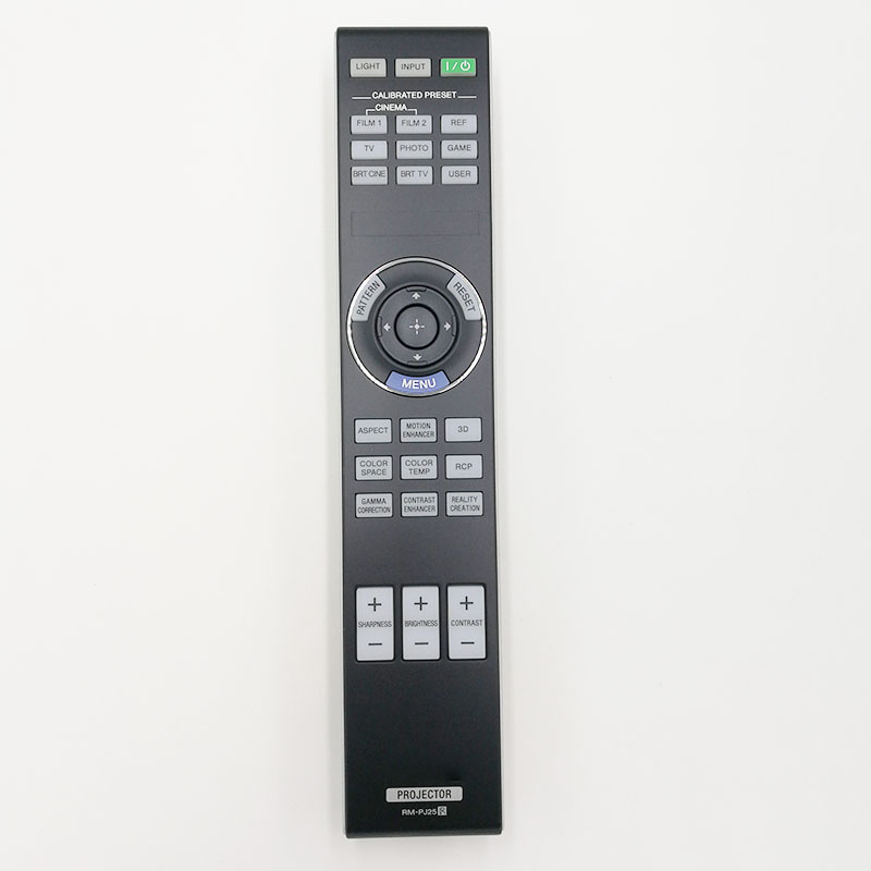 New Original Remote Control rm-pj25 for sony VPL-HW40ES projectors chunghop rm l7 multifunctional learning remote control silver