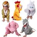 Halloween Conjunto Traje Desempenho Animal Crianças Desempenho Trajes