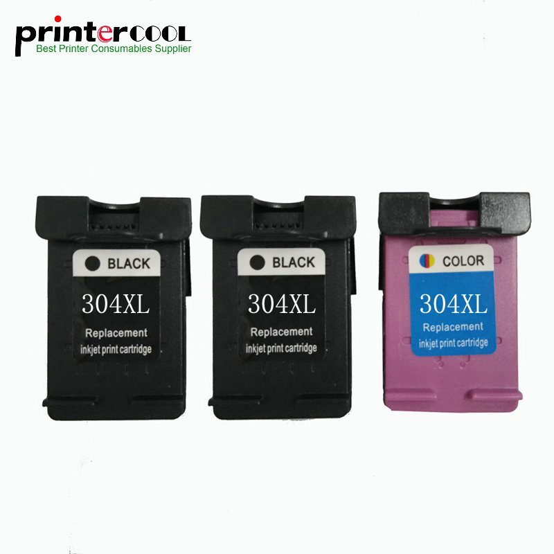 einkshop 304 xl Remanufactured Ink Cartridge Compatible for HP 304xl for Deskjet 3700 3720 3730 3732