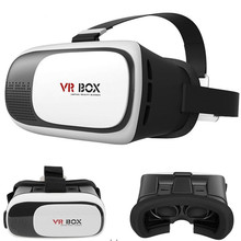 HOT Google cardboard VR BOX II 2.0 Version VR Virtual Reality 3D Glasses For 4.0 – 6.0 inch Smartphone+Bluetooth Controller