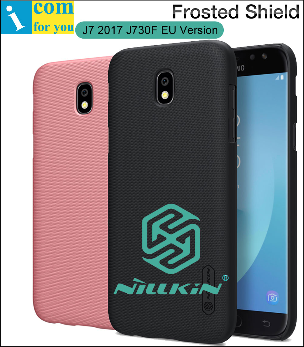 Nillkin Frosted Cover Case For Samsung Galaxy J7 2017 J730F Back Hard Plastic Protective Shell Shield