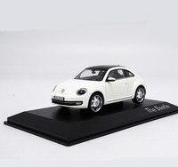 High Imitation Volkswagen New Beetle 1 43 Scale Alloy Car Model Static Model Metal Casting Children