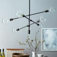 Modern Pendant Lights Lamp Kitchen Island Dining Living Room Decoration Glass Branch Bean Lighting Fixture