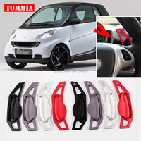 Tommia For Smart Fortwo 2009 2017 Alloy Add On Steering Wheel DSG Paddle Shifters Extension