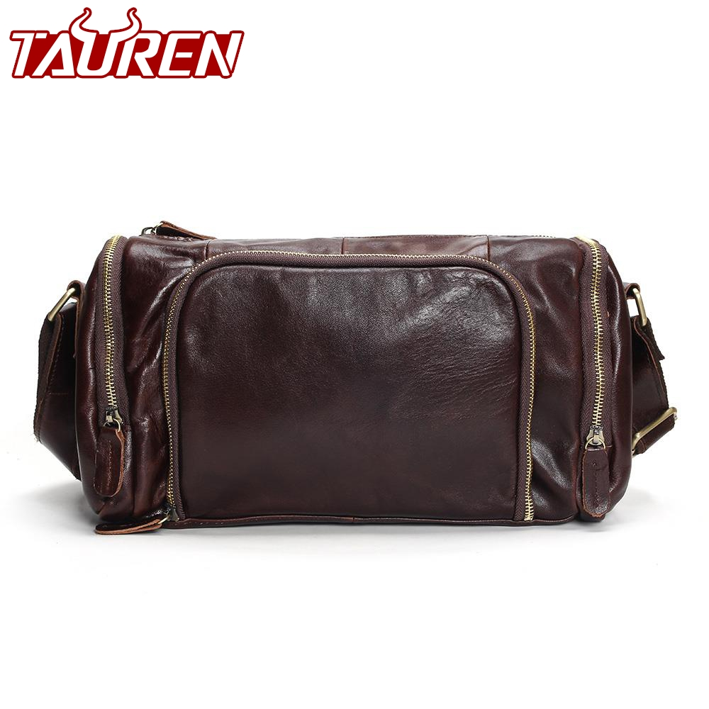 Genuine Leather Men Travel Bab Shoulder Bag Gentleman Business Bag Real Leather Men Crossbody Bag Brand Fashion Handbag danjue genuine leather men travel shoulder bag double zipper designer crossbody bag business fashion real leather briefcase bag