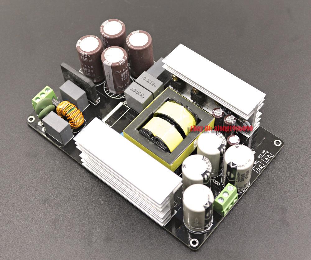 ZEROZONE 1000W +/- 75V LLC Soft Switching Power Supply / amplifier PSU board L4-6 цена