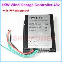 1kw 1000 Вт ветрогенератор Контроллер заряда Регулятор 24v 48v типа с IP67 водонепроницаемой функцией