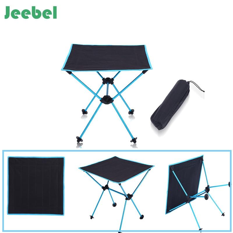 Jeebel HOT High Quality Ultra-Light Table Folding Outdoor Hiking Waterproof Ultra-light Durable Folding Table Desk For Picnic kingcamp ultra light folding table