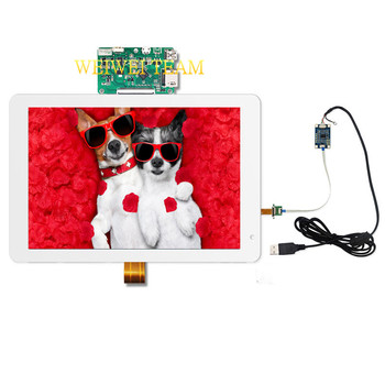 IPS LCD Display 8.9 Inch 2K 2560X1600 with Capacitive Touch Panel Glass Sensor HDMI to MIPI Driver Board For Raspberry pi 3 3B+
