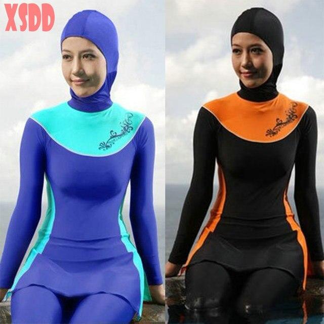 74c92c53a179d NEW Islamic Hindu Jewish Full Cover Modest SWIMWEAR Muslim Swimsuit  Beachwear Bathing Suit Free Shipping