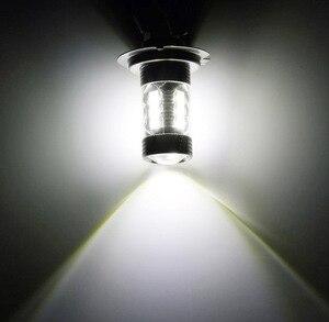 Image 5 - 2 pçs 1156 ba15s 80w led carro nevoeiro bulbo p21w lâmpada veículos sinal de volta cauda luzes de freio do carro fonte de luz s25 r5w led