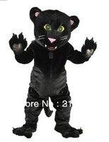Parker leopard талисман взрослых Костюм характера Косплэй талисмана Бесплатная доставка