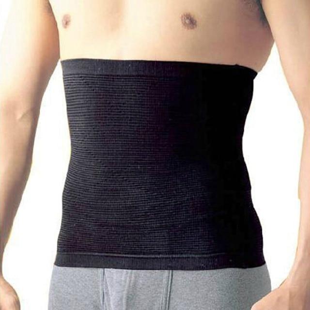 Waist Trimmer Slimming Belt for Men Male Sweat Sauna Abdominal Shapewear Waist Slimming Belt Beer Belly Body Shape 1