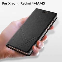 Redmi 4X case Alivo For xiaomi Redmi 4X 4A 4 pro prime Global case Luxury Fashion PU Leather cover For xiomi 4 A X phone case