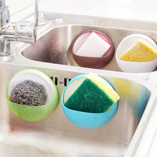 Łazienka szczoteczka do zębów mydło Sucker uchwyt gąbka mydelniczka organizator stojaki do przechowywania kuchnia łazienka akcesoria