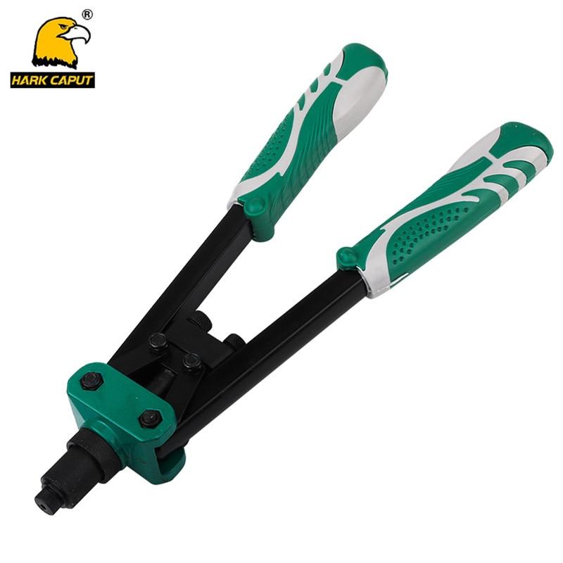 HARK CAPUT Rivet Gun Rivet Nut 3.2mm/4mm/4.8mmAluminum Alloy For Drill For Pull Out Nail Hand ToolsHARK CAPUT Rivet Gun Rivet Nut 3.2mm/4mm/4.8mmAluminum Alloy For Drill For Pull Out Nail Hand Tools