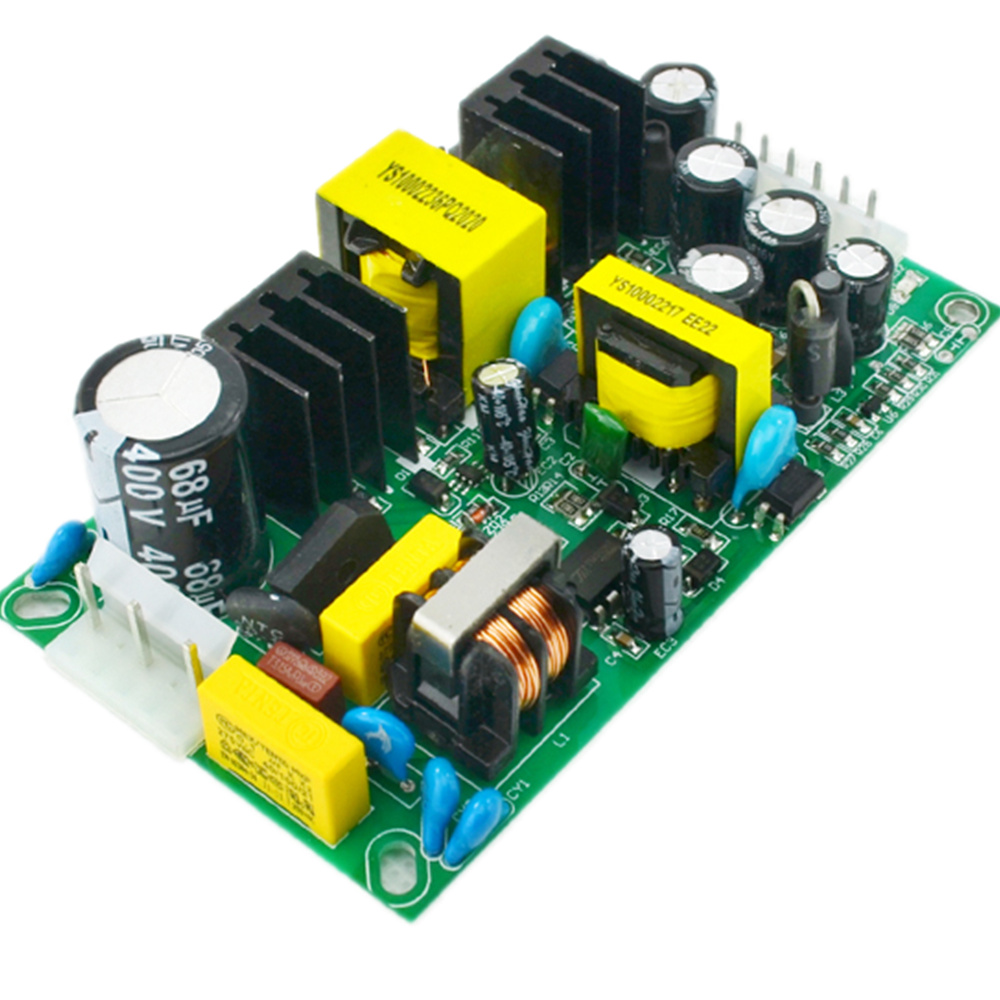 12V3A / 5V3A (50W) dual isolation switching power supply, 220V to 12V / 5VAC-DC module bare board