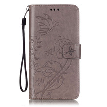 Cute Flower Printing PU Leather Case For Huawei G8 / Nexus 6P Y6 Luxury Flip Wallet Cover With Card Slot Stand Phone Bag