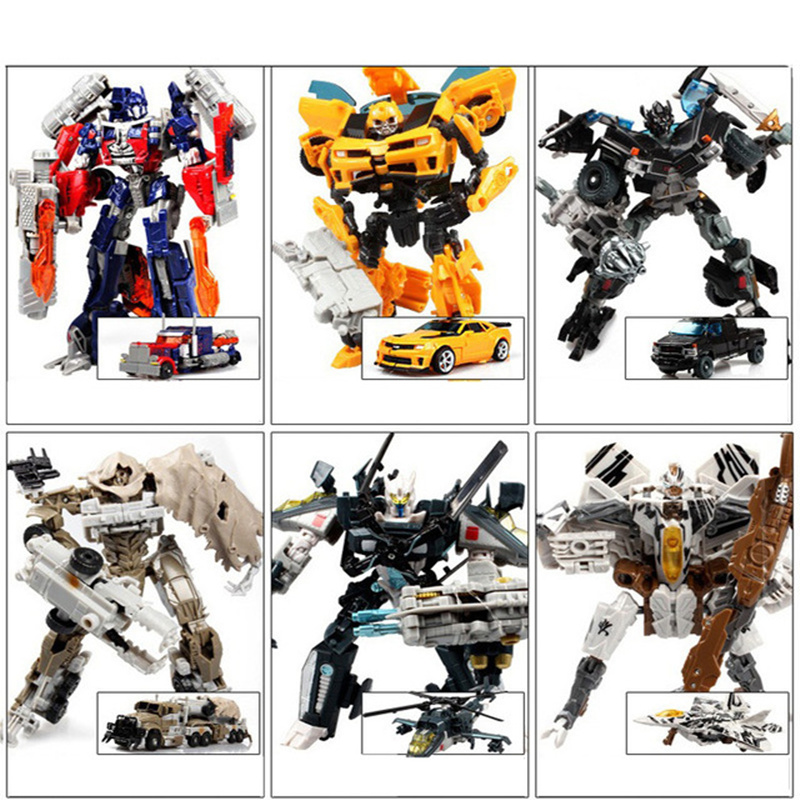 Hot Plastic Kids Transformation Toys g1 Brinquedos Deformation Robot Car Action Figures Classic Toys for Boys Juguetes Gifts Toy with package 6 pcs set transformation robot cars and bruticus toys action figures block toys for kids birthday gifts