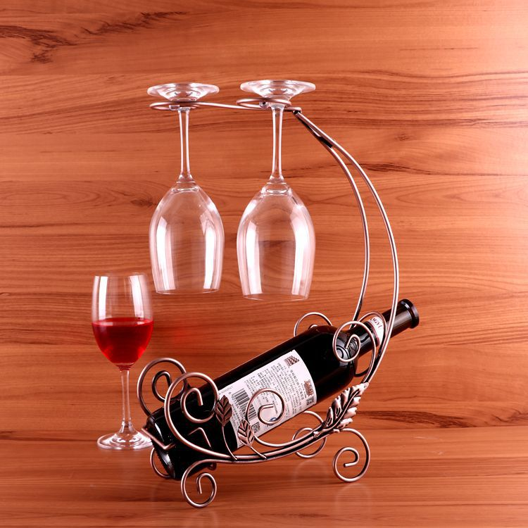 New Fashion Creative Red Wine Glass Rack Wine Rack Upside Down European Wine Fashion Frame Ornaments Glass Shelf Cerveja Beer