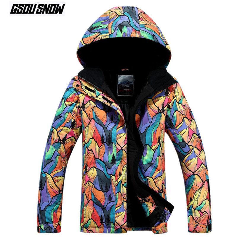 GSOU SNOW Brand Ski Jackets Women Winter Outdoor Jacket Waterproof Snowboard Coat Female Skiing Snowboarding Warm Snow Clothes womens windbreaker waterproof ski snowboard jacket women snow winter coat casacos de inverno feminino skiing snowboarding coats