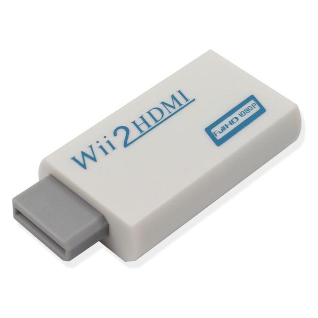 Фото адаптер преобразователя wii в hdmi выход full hd 1080p 720p