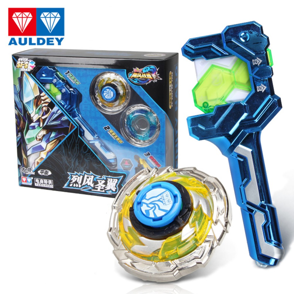56d45a872691e New Plastic Metal KING OF WARRIOR Athletics Series Spinning top- LFSY Kids  Classic Toys either clockwise balance Gyro