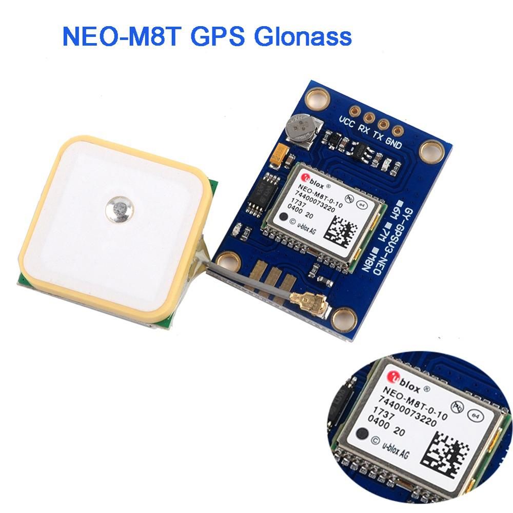 GY-GPSV3-M8T NEO-M8T GPS Module Positioning GLONASS GNSS GPS Antenna for Arduino RCmall FZ3077 free shipping offer iot lora tracker 2pcs ceramic gnss gps glonass antenna passive antenna 25 x 25 x 4mm for gps antenna module