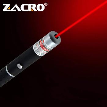 Zacro celownik laserowy wskaźnik 5MW wysokiej mocy zielony niebieski czerwona kropka światło laserowe pióro Laser o dużej mocy miernik 405Nm 530Nm 650Nm zielony Lazer tanie i dobre opinie 1-5 mW Laser sight ZHA0072 Black 2xAAA batteries (not included) Aluminum alloy 155mm x 14mm x 14mm Long distance Portable Bright Stable