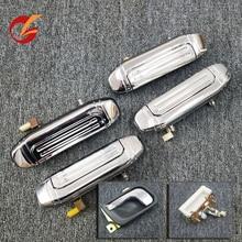 Poignée intérieure de porte pour mitsubishi Pajero, V31, V32, V33, V43, V44, V45, V46, poignée dextérieur pour porte arrière