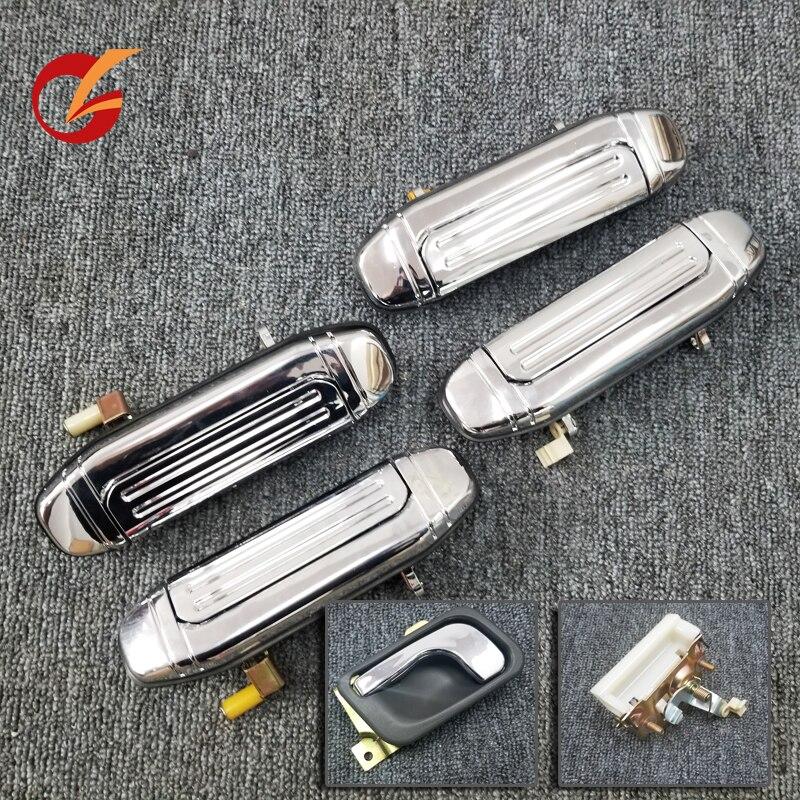 Utilizzare per mitsubishi Pajero V31 V32 V33 V43 V44 V45 V46 maniglia della porta interna maniglia maniglia esterna della porta posteriore maniglia