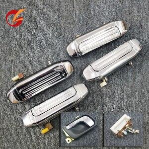 Image 1 - שימוש עבור mitsubishi פאג רו V31 V32 V33 V43 V44 V45 V46 דלת ידית פנימי ידית חיצונית ידית דלת אחורית ידית